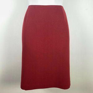 Casual Corner Skirts - Casual Corner Annex Skirt 10 Red Pencil Career FF
